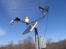 Solar scada weather monitoring system